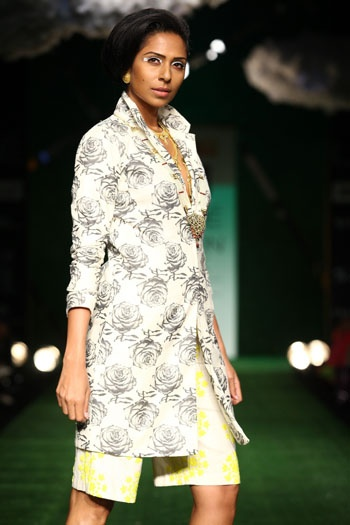 MASABA AND SHIVAN-NARRESH Collection at Lakme FW 2013 on Day 1