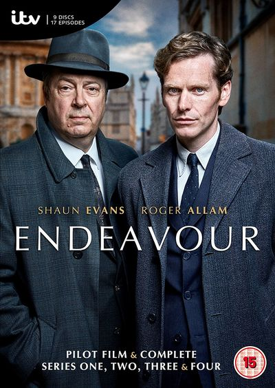 Endeavour: Complete Series 1- 4 (Image 1)