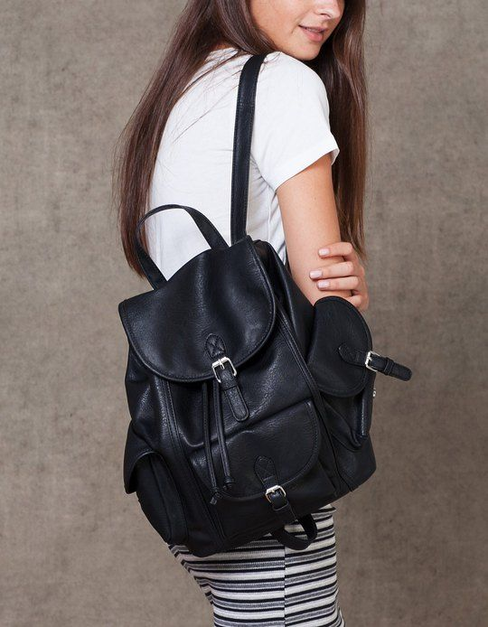 At Stradivarius you'll find 1 Casual backpack for woman for just 229.9 HRK . Visit now to discover this and more BAGS.