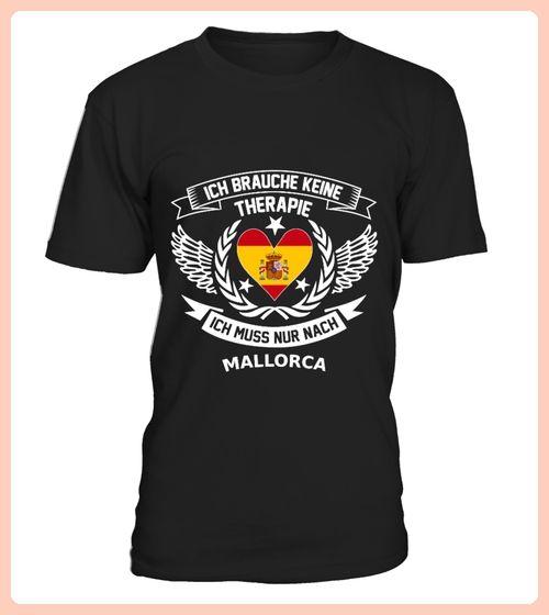 Mallorca Therapie T Shirt Pullover Hoodie Sweatshirt fr Damen und Herren (*Partner Link)