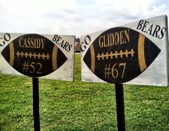 Sports Yard Sign Personalized Sport Yard Sign by CharmingWillows, $30.00