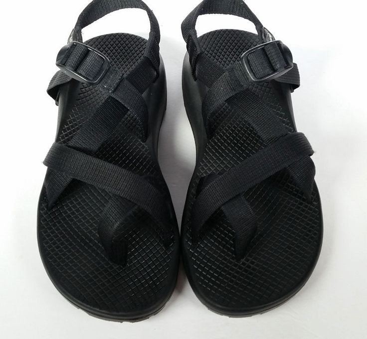 CHACO 9 SANDALS MADE IN COLORADO Black Sport Sandals ZX/2 *EXCELLENT* Women Sz 9 #Chaco #SportSandals
