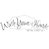 This is a link to where you can get the decal!!: Hands Mom, Quote, Wall Lettering, Vinyl Wall, Home Decor
