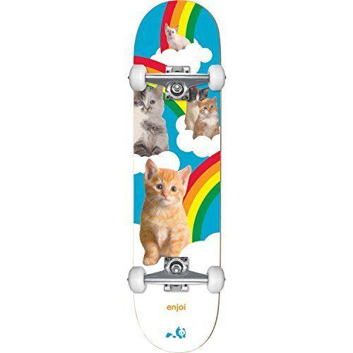 Enjoi Skateboards Kitten Dreams Complete Skateboard - 8 x 31.7 by Enjoi Skateboards. Enjoi Skateboards Kitten Dreams Complete Skateboard - 8 x 31.7.