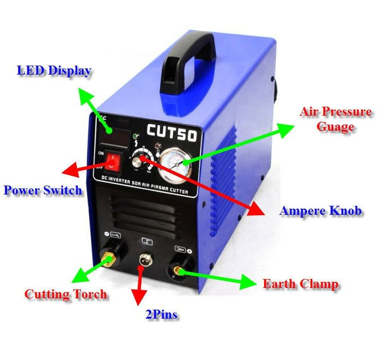 289.80$  Buy now - http://aliasr.worldwells.pw/go.php?t=32657089409 - Welding Machine Portable Air Plasma Cutter NEW CUT50 Digital Inverter 110v/220V Machine Plasma Welders Maquina De Solda
