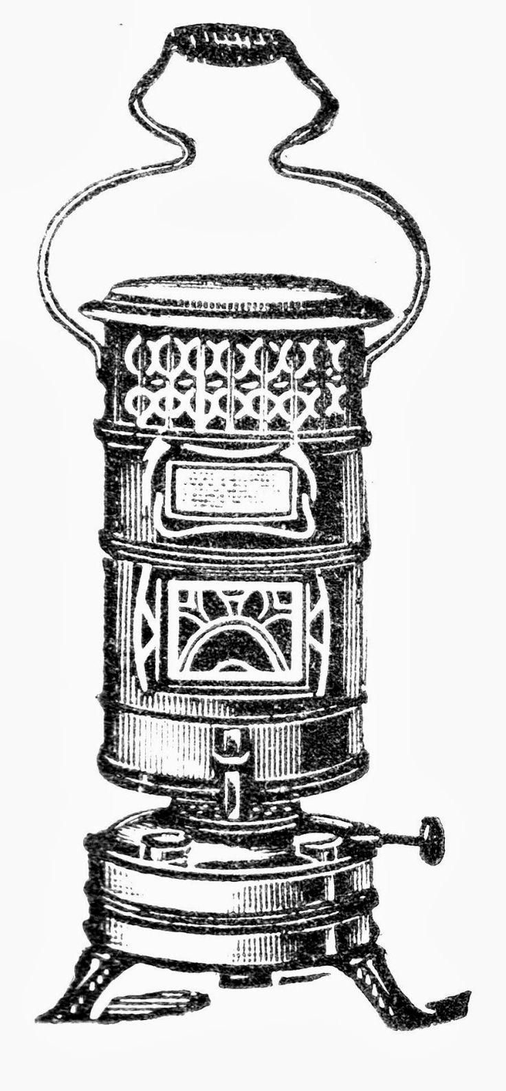 Vintage Kerosene Heater