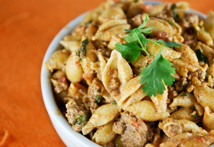 Taco Pasta this makes everyone in my family happy when I make this for ...