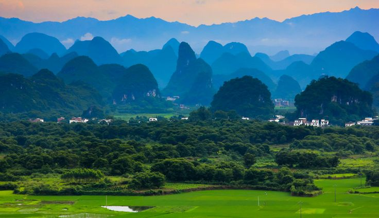 mountain salute, (Putao, Guilin, China),  by zhangning  on 500px