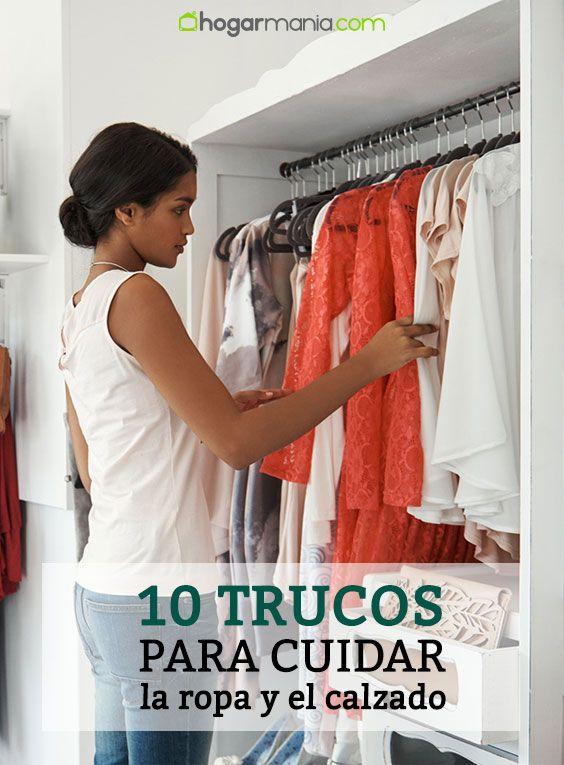 10 trucos para cuidar la ropa