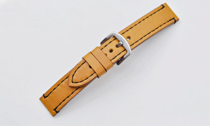 Seiko Solar 22mm Handmade Calfskin Leather Watch Strap, Fits Other Watches: Omega, Tag Heuer, Breitling, Panerai, Fossil-More colours&sizes by ChristianStraps on Etsy