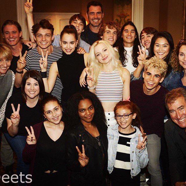 The cast of Descendants 2