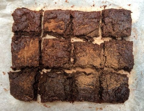 Fudgey Cacao and Beetroow Brownie   The Inspired Table http://www.theinspiredtable.com.au/cacao-and-beetroot-brownie/