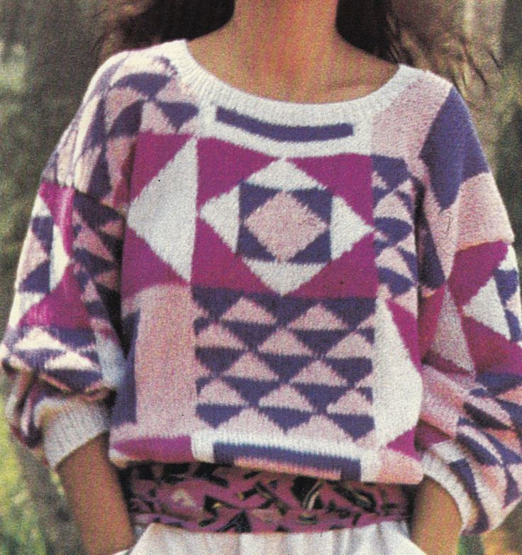 50 best Check, Tartan and Plaid Vintage Knitting Patterns images ...
