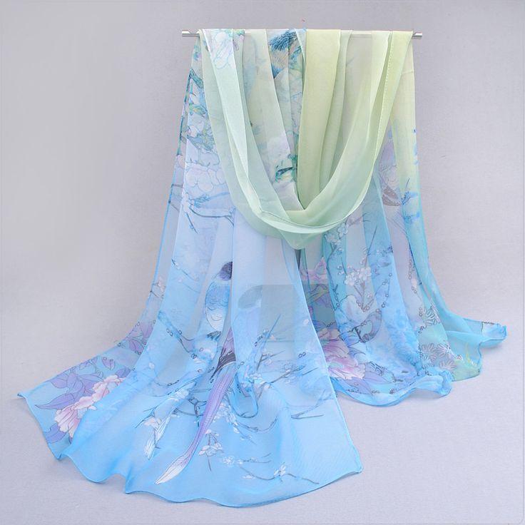 2017 khăn mỏng chiffon khăn lụa mùa xuân và mùa thu phụ kiện của phụ nữ mùa hè chống nắng choàng XQM