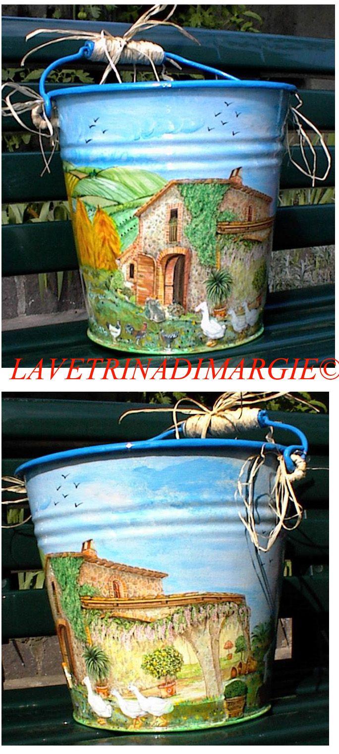 restoration of an old bucket