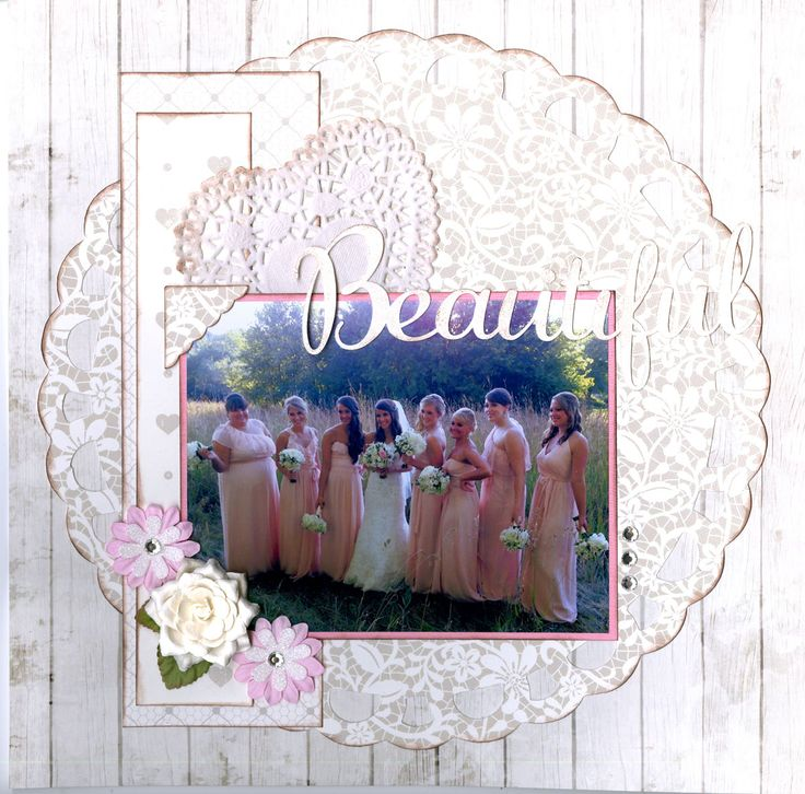 **NEW** Ella & Viv Paper Company - Scrapbook.com - Made with the NEW Ella & Viv Paper Company paper from the Wedded Bliss collection.