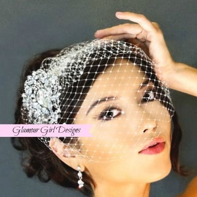 17 Best Images About Glamour Girl Designs On Pinterest Brooches Birdcage Veils And Wedding