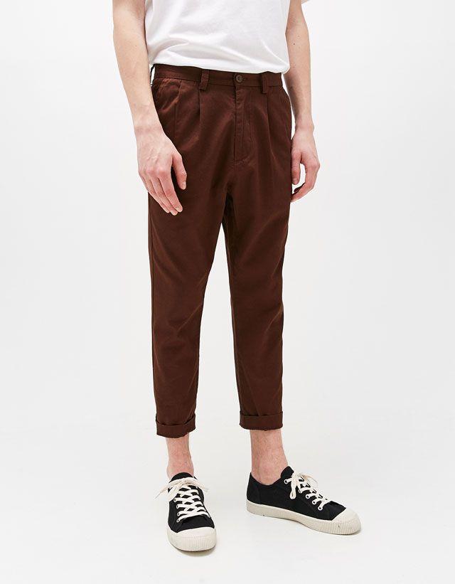 Pantalones de hombre - Primavera Verano 2017 | Bershka