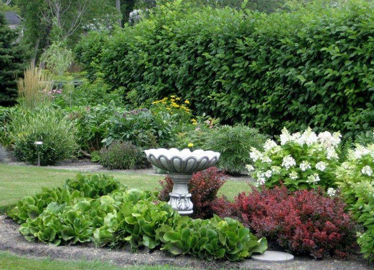 Annes Garden In Manitoba Fine Gardening Foreground