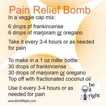 Be Oil Right - Morphine Bomb | Life - Essential Oils | Pinterest | Pain d'epices, Morphine bomb and To look