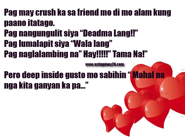 Best 25 Crush quotes tagalog ideas on Pinterest  Cute love