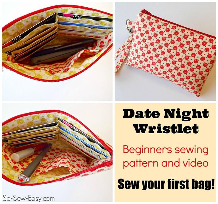 Looking for your next project? You're going to love Date Night Wristlet by designer Deby Coles. - via @Craftsy