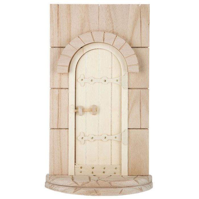 97 best crafts wood leather carvings images on for Unfinished fairy door