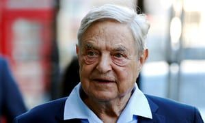 """George Soros's foundation backs campaign to """"reverse"""" Brexit  US business magnate has given £400,000 to Best for Britain group since June 2017 election"""