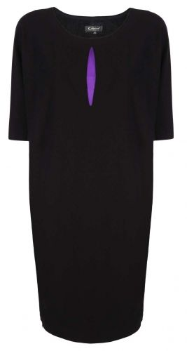 Caterina, czarna sukienka oversize, modna sukienka, elegancka sukienka, stylowa sukienka, https://sklep.caterina.pl