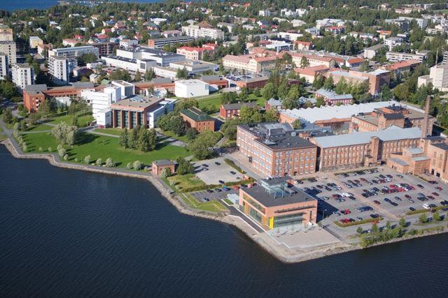 Vaasa - and my university's campus area