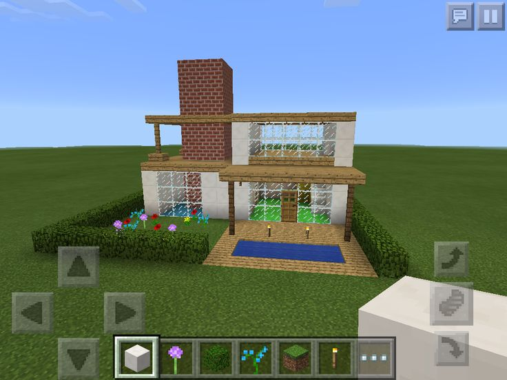 Pin minecraft luxury villa on pinterest - Minecraft villa ...
