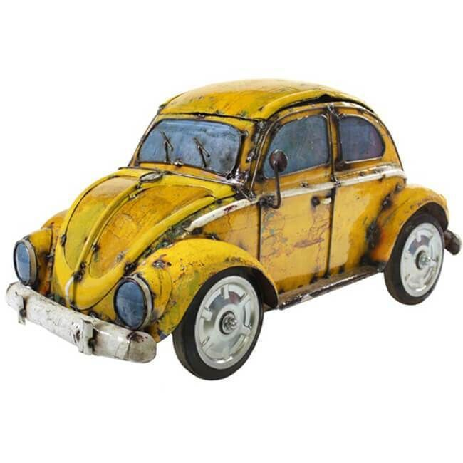 VW Beetle Retro Metal Postcard Mini Sign Great Gift!