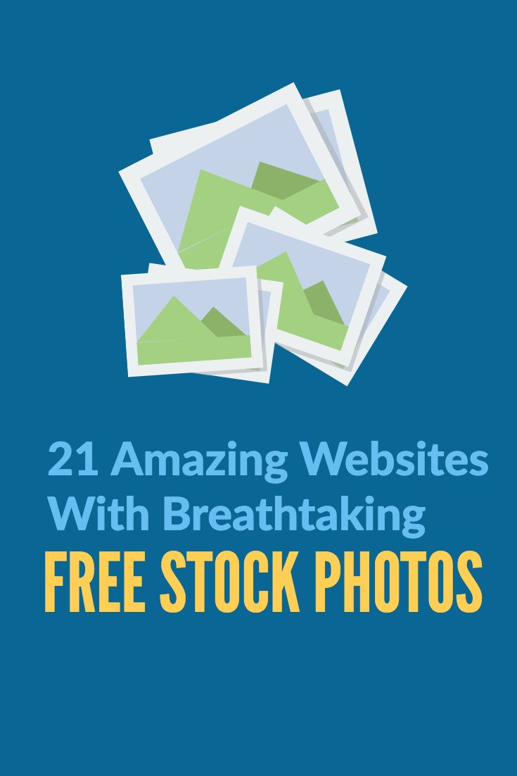 A collection of amazing websites with beautiful free stock photos