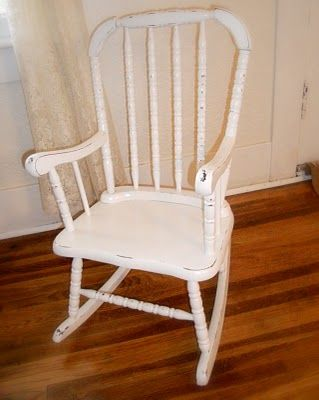 Adult jenny lind rocking chair