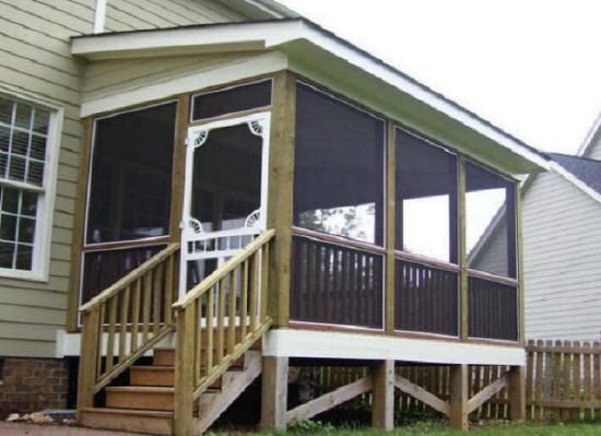 Enclosed Bed Google Search: How To Build An Enclosed Porch - Google Search