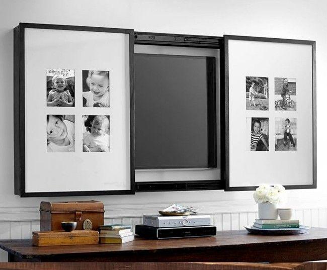 Clevere Raumgestaltung Einrichten Fernseher Verstecken