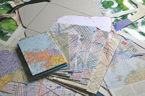 handgemaakte enveloppen...zo verstuur je de wereld naar de wereld