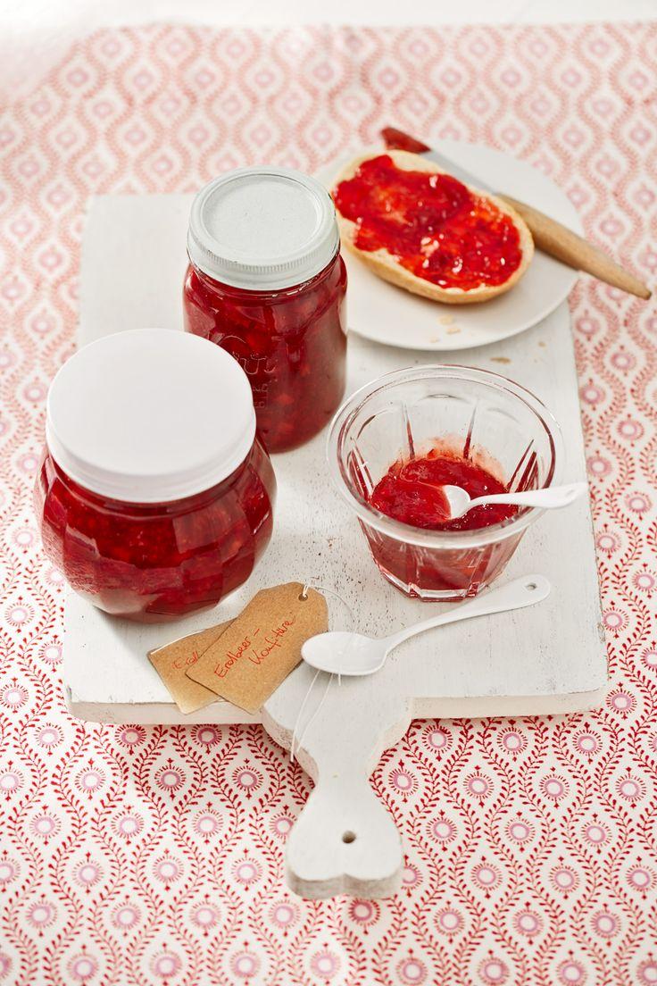 Erdbeerkonfitüre mit Vanille