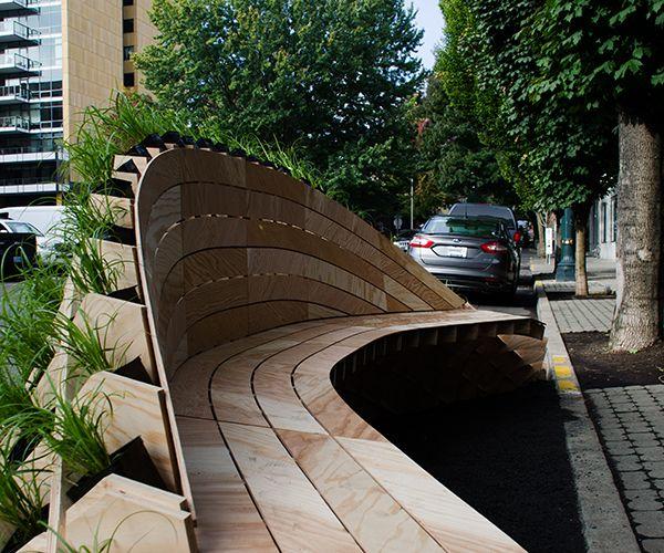 mobiliario urbano jardim : mobiliario urbano jardim:1000 ideias sobre Paisagismo Em Torno Da Plataforma no Pinterest