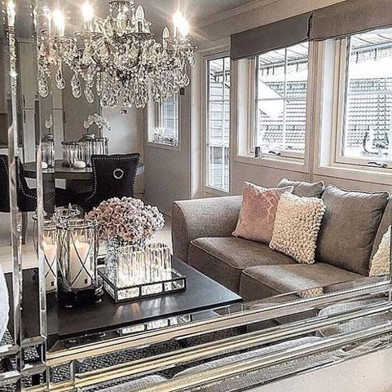 Grey Living Room Furniture Ideas Chic For Cozy Glam Decor: 1000+ Ideas About Silver Living Room On Pinterest