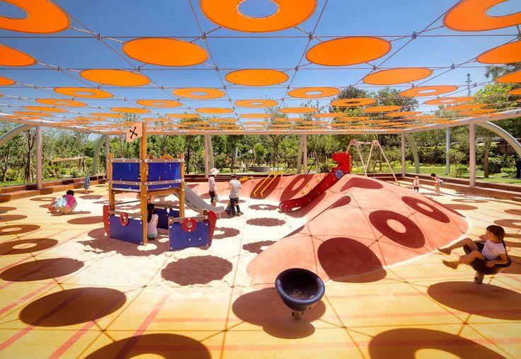 Indigo Park Playgrounds | Ballistic Architecture Machine (BAM) | Landezine
