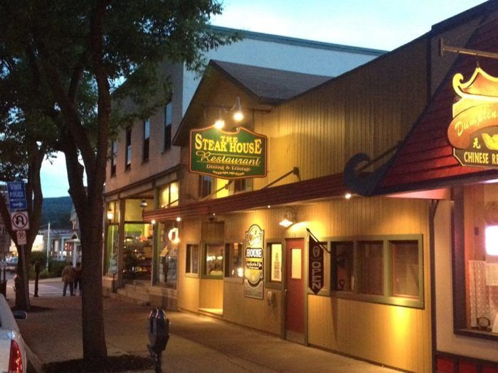 A Rustic Restaurant In Pennsylvania The Steak House Is A Carnivore S Dream Come True Steakhouse Rustic Restaurant Wellsboro