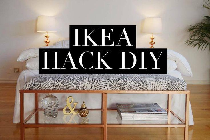 IKEA HACK från tv-bänk till sängbänk - Vittsjö - YouTube