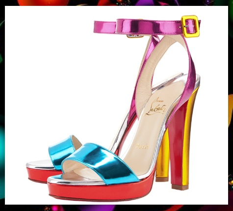 """""""Echasse"""" by Louboutin  from blog:  http://geeliciouspassion.wordpress.com/2012/06/06/loving-louboutin/"""