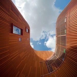 "COBE's Copenhagen kindergarten  designed as a ""village for children"""