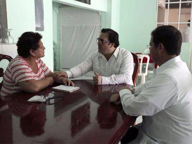 Javier Duarte se reúne con abuela de víctima de Porkys y ofrece su respaldo | El Puntero