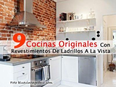 9 Cocinas Originales Con Revestimientos De Ladrillos A La Vista