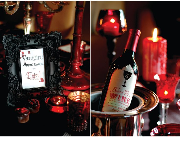 nashville lifestyles magazine vampire dinner party - Vampire Halloween Decorations