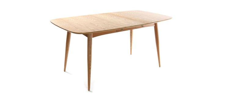 Table à manger extensible frêne naturel NORDECO