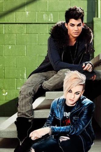 Adam Lambert and Tommy Joe Ratliff!!